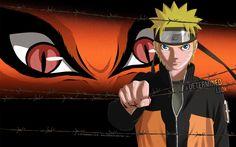 Anime Naruto  Kurama (Naruto) Kyūbi (Naruto) Naruto Uzumaki Tapeta