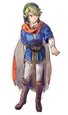 The Legend of Zelda   Link By: お粥