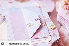 #Repost @galinochka_scrap with @repostapp ・・・ А ещё странички могут буть вот такими  с конвертиком для теста или другого секретика   Так же  у этого конвертика есть дополнительная функция) он может держать сразу несколько фотографий и карточку с важной информацией о малышке  использовалась супер коллекция бумаги от @mona_design_shop