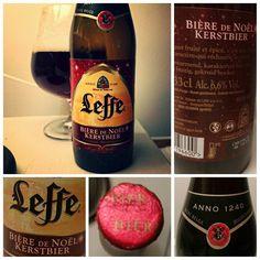 Leffe Bière de Noël Kerstbier abv 66 %  #leffe #beer #biere #bier #cerveza #Christmas #christmasbeer #kerstbier #belgium #Belgianbeer #leffes