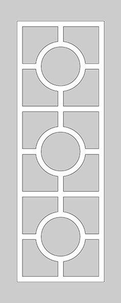 O'verlays Kits for IKEA MINDE (mirror). O'verlays decorative fretwork panels