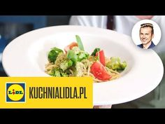 SPAGHETTI Z PESTO BROKUŁOWYM 🍝 | Karol Okrasa & Kuchnia Lidla - YouTube Lidl, Pesto, Grains, Spaghetti, Youtube, Food, Kitchens, Meals, Yemek