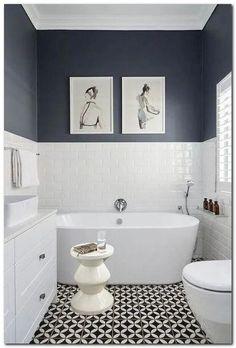 Home Decor Habitacion .Home Decor Habitacion Bathroom Tile Designs, Bathroom Design Small, Bathroom Wall Decor, Bathroom Interior Design, Bathroom Flooring, Bathroom Ideas, Interior Livingroom, Bathroom Wallpaper Modern, Modern Bathroom