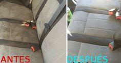 Quitamanchas para los asientos del coche y su tapicería