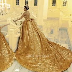 """""""Be My Queen"""" - Make Your Dreams Come True In This Magical Wedding Dress by Merita - Albanian wedding dress designer and Makeup Artist Parukeri Eestetike Merita just blew us away with this Slay Queen inspired wedding dress Arabic Wedding Dresses, Wedding Dress Trends, Bridal Dresses, Wedding Gowns, Girls Dresses, Flower Girl Dresses, Mother Daughter Fashion, Mother Daughter Dresses Matching, Pretty Dresses"""