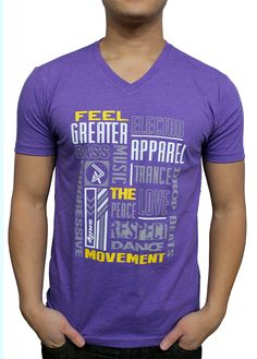 Feel the Movement! Join Greater Apparel on our movement to merge EDM rave clothes and everyday clothing together.
