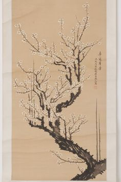 Check out Chinese hanging scroll White plum painting on silk Antique wall art hs0608  http://www.ebay.com/itm/Chinese-hanging-scroll-White-plum-painting-on-silk-Antique-wall-art-hs0608-/122006629977?roken=cUgayN&soutkn=IiRnwr