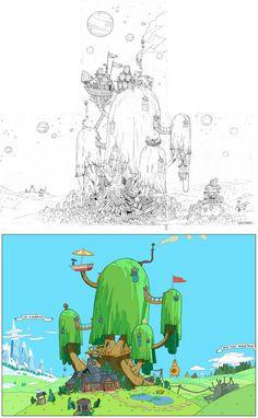 http://theconceptartblog.com/wp-content/uploads/2012/10/AdventureTime-Backgrounds-09.jpg