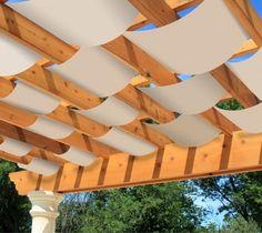 Image result for pergola shade ideas