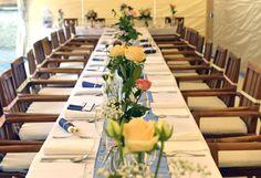 Modrá bodkovaná svadba