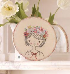 Free Project: Flower Girl Hoop