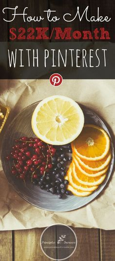 How to Make $22,000 per Month with Pinterest