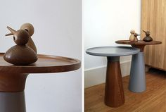 Wooden birds by Architect Made on Noah tables