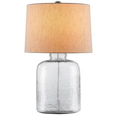Currey and Company Rob Roy Clear Table Lamp 6172