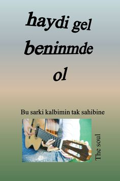 اغنية ( هيا تعال وكن معي..للمطربه سيزين اكصو) بلغتي التي ولدت بها اللغه التركيه ( Bu sarki....هذه الاغنية لصاحب قلبي الوحيد)