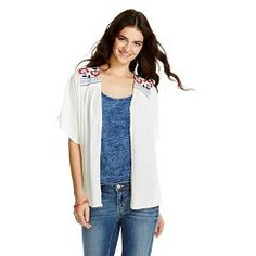 Embroidered Kimono Jacket Sour Cream S/M -Get substantial discounts up to 50% Off at Target with Coupons and Promo Codes..