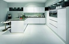 Searching for kitchen cabinets in Newton MA. YGK will be you best choice for modern kitchen cabinets. We have a large variety of kitchen cabinet designs. Nobilia Kitchen, Kitchen Sale, Modern Kitchen Cabinets, Kitchen Cabinet Design, Modern Kitchen Design, Kitchen Decor, Kitchen Ideas, Handleless Kitchen, German Kitchen