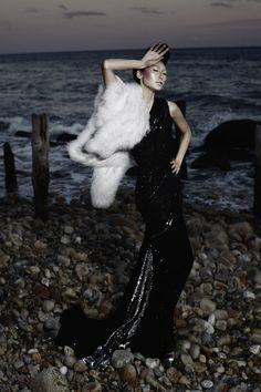 Dinara Chetyrova in Venexiana, photographed by Maxim Repin for Đẹp Magazine S/S 2012.