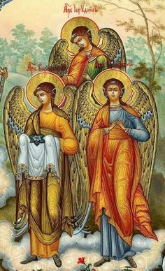 Religious Images, Religious Icons, Religious Art, Crying Angel, Ancient Greek Art, Religious Paintings, Biblical Art, Byzantine Icons, Angel Pictures