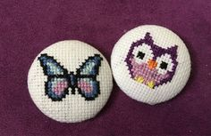 A personal favourite from my Etsy shop https://www.etsy.com/uk/listing/526134062/handmade-cross-stitch-badges-you-tell-me