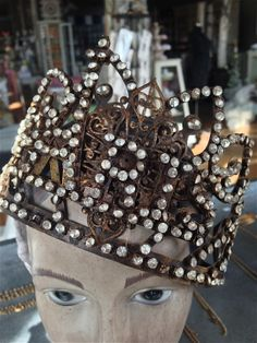 Pretty jewelled Paris crown at Pure Home Couture...