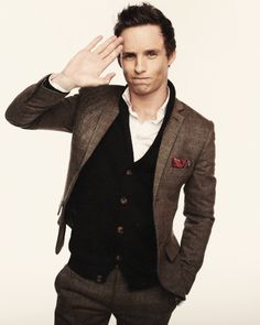 I did not pin this specifically for mr. Eddie Redmayne, simply to ask Since when is this a pose? And how does he pull it off so darn well?!