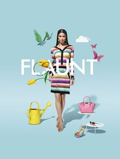 Fashion photography and cgi campaign created for Mall of the Emirates in Dubai in collaboration with photographer Perou.