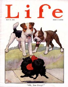 Cover of Life magazine, 24th of may, 1922.