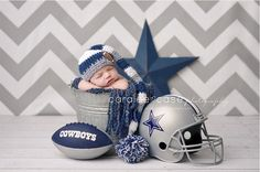 Football baby, but needs to be the Vikings! Could also be done for baseball - twins!