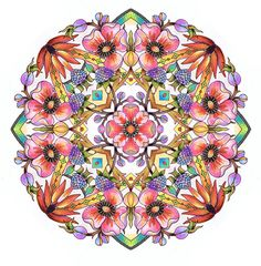 Mandalas- Adult Coloring Pages -Set of 10