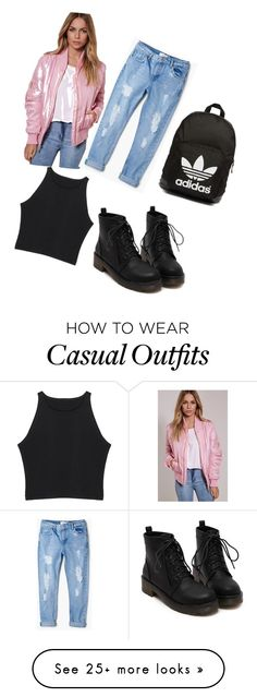 """""""Casual"""" by maianh-ii on Polyvore featuring MANGO and adidas Originals"""