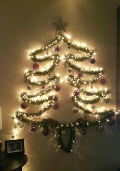 DIY Wall Christmas tree
