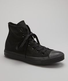Take a look at this Black Hi-Top Sneaker - Women & Men by Converse on #zulily today!