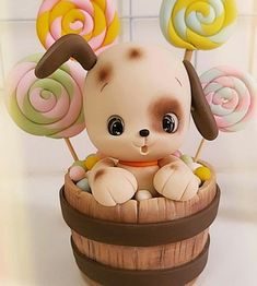 Diy Clay, Clay Crafts, Teacup Chihuahua Puppies, Creamy Mac And Cheese, Clay Figurine, Clay Animals, Pasta Flexible, Miniature Houses, Spicy Recipes