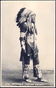 Assiniboine man - circa 1900