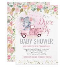 Shop Elephant Baby Shower Parade Invitation created by PrinterFairy. Elephant Baby Showers, Baby Elephant, Baby Shower Invitation Cards, Baby Favors, Virtual Baby Shower, Floral Baby Shower, Baby Games, Amazon Gifts, Girl Shower