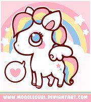 Baby Rainbow Pegasus by *MoogleGurl on deviantART
