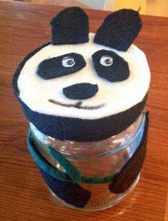 Cute panda craft inspired from National Wildlife Federation Ranger Rick craft.