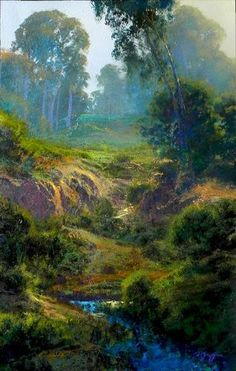 """Dale Terbush """"Back To The Evergreen"""" - Southwest Gallery: Not Just Southwest Art."""