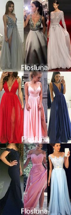 The new Flosluna prom collection is here! Shop dresses $99 & up in sizes 0–22 & 28 colors. Custom size for free! Shop prom dresses 2018 now! More Evening gowns & Formal dress at Flosluna.com