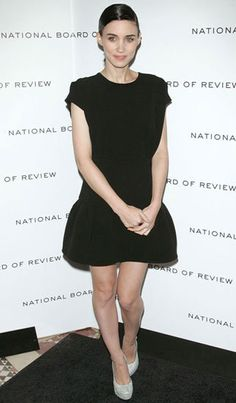 Rooney Mara...lover her modern gothic style. Her fashion is dazzling.