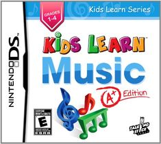 Kids Learn Music A Edition  Nintendo DS -- Click image to review more details. Note:It is Affiliate Link to Amazon.