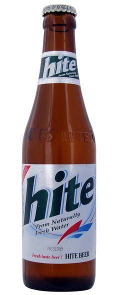Hite Beer - Hite Brewery Company LTD, South Korea