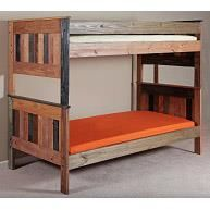 Twin/Twin Stackable Bunk Bed in Multi-Color