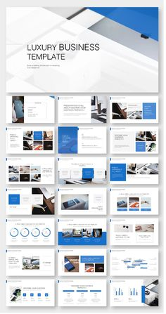 Blue Business Annual Report PowerPoint Template – Original and high quality PowerPoint Templates d Design Websites, Web Design Tips, Web Design Tutorial, Powerpoint Design Templates, Presentation Layout, Presentation Templates, Magazine Ideas, Web Design Quotes, Catalog Design