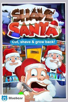 لعبة الأطفال الطريفة حلاق بابا نويل Shave Santa مهكرة للاندرويد احدث اصدار 3.1 [اللعبة كاملة مفتوحة] Santa Games, Beard Designs, Santa Beard, Cooking App, Fun Games For Kids, Game Item, Jack Frost, Shaving, Free Apps