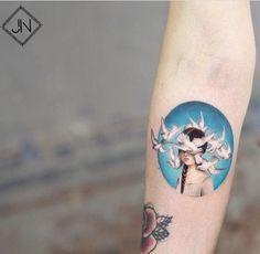 Jefree Naderali tattoo Turkish delight (and Greek) Jefree Naderali tattoo Piercing Tattoo, Piercings, Body Art Tattoos, New Tattoos, Small Tattoos, Tatoos, Hairline Tattoos, Mini Mundo, Aesthetic Tattoo