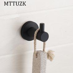 dae8fba6c4 MTTUZK black 304 stainless steel Clothes hooks Kitchen hooks living room  wall hanging door rear hook