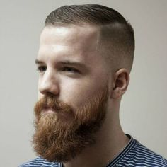 50 Dazzling Crew Cut Haircuts for Men in 2019 High And Tight Fade, High And Tight Haircut, High Skin Fade, Skin Fade With Beard, Beard Fade, Short Hair Long Beard, Short Hair Cuts, Latest Haircuts, Haircuts For Men