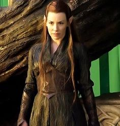 """""""When did we allow evil to be stronger than us?"""" Tauriel"""